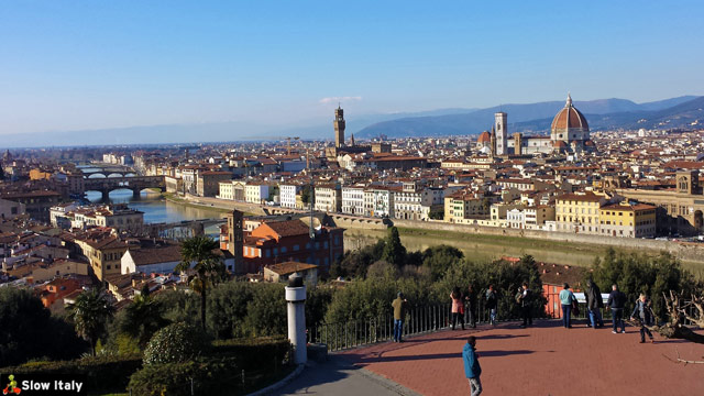 View over Florence. Photo © Slow Italy.