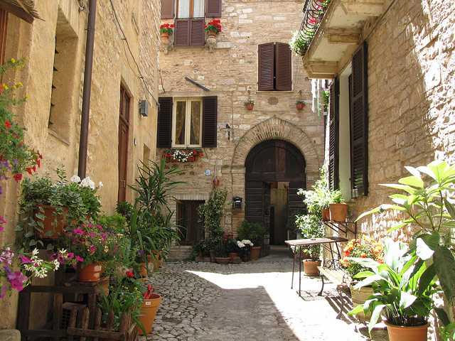 Spello. Photo by Christopher John SSF.