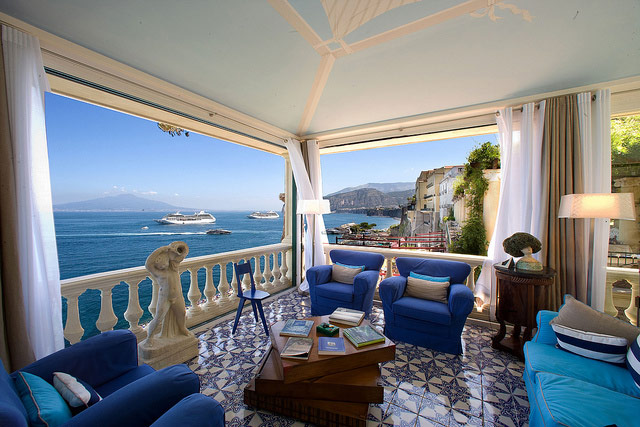 Bellevue Syrene Hotel, Sorrento. Photo: Bellevue Syrene/Flickr.