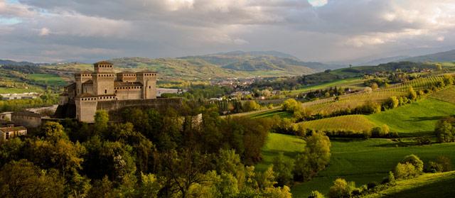 Castle of Torrechiara. Photo © Carla Silva