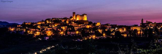 Longiano. Photo © Filippo Giorgini via Longiano dei Presepi on Facebook.