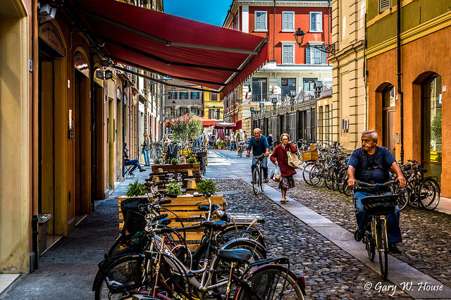 Mercato Albinelli neighborhood in Modena. Photo © gwh.photography