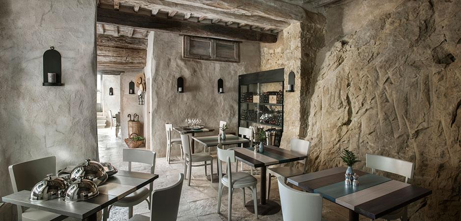 Monteverdi Tuscany, restaurant Oreade. Photo: monteverdituscany.com