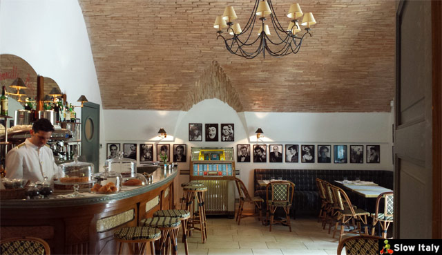 Palazzo Margherita, Cinecittà bar. Photo © Slow Italy