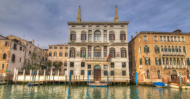 Aman Canal Grande Hotel, Venice. Photo © Adrian Turner.