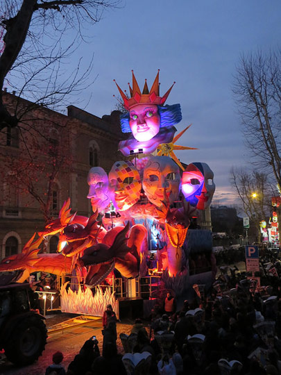 Fano carnival. Photo by Patrizia.