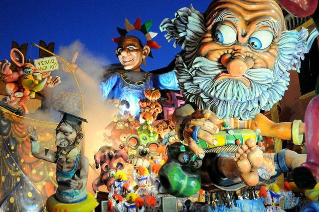 Cento carnival. Photo by Turismo Emilia Romagna