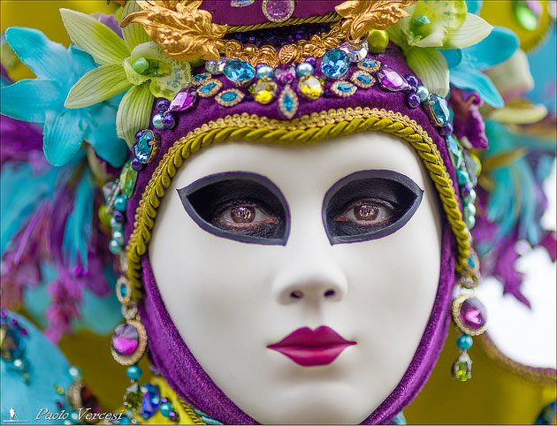 Venice carnival. Photo by Paolo Vercesi.