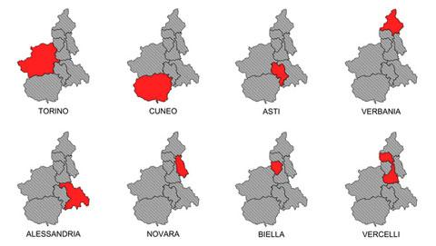 piedmont-provinces