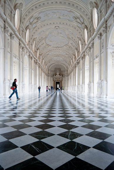 La Venaria Reale, the Italian Versailles. Photo by Vince42.
